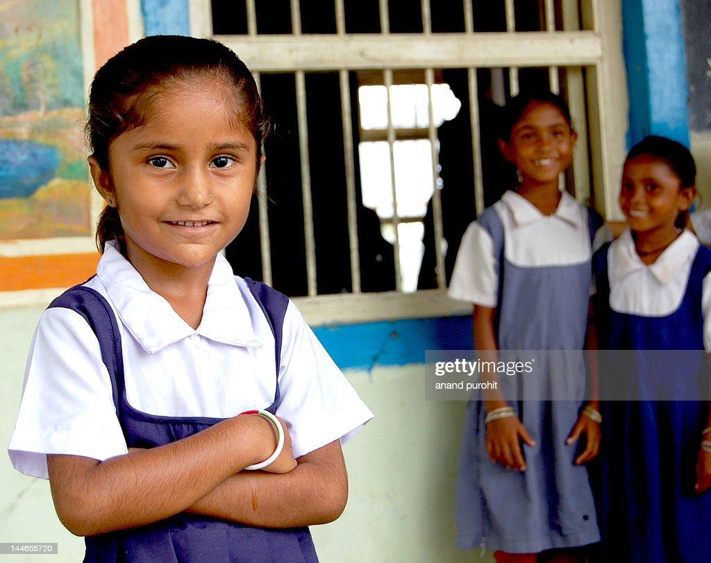Innocent Indian girl : Stock Photo