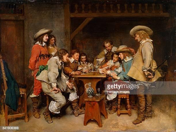 Innocents and card sharpers' 1861 Artist Jean Louis Ernest Meissonier