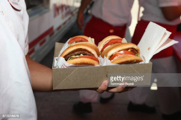 InNOut Burger at Safe Kids Day 2017 at Smashbox Studios on April 23 2017 in Culver City California