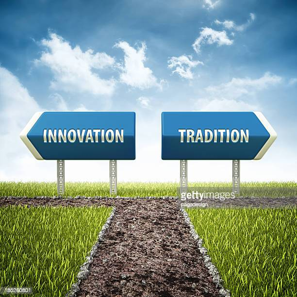 innovation and tradition crossroad