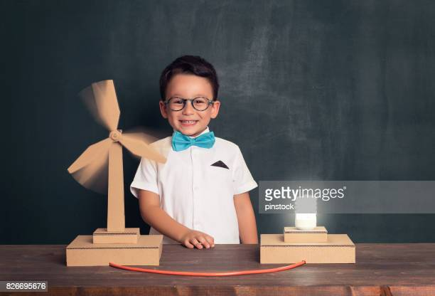 innovation for clean energy. - inventor stock pictures, royalty-free photos & images