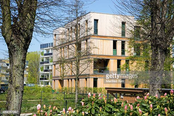 Innovative smart price housing construction with natural materials