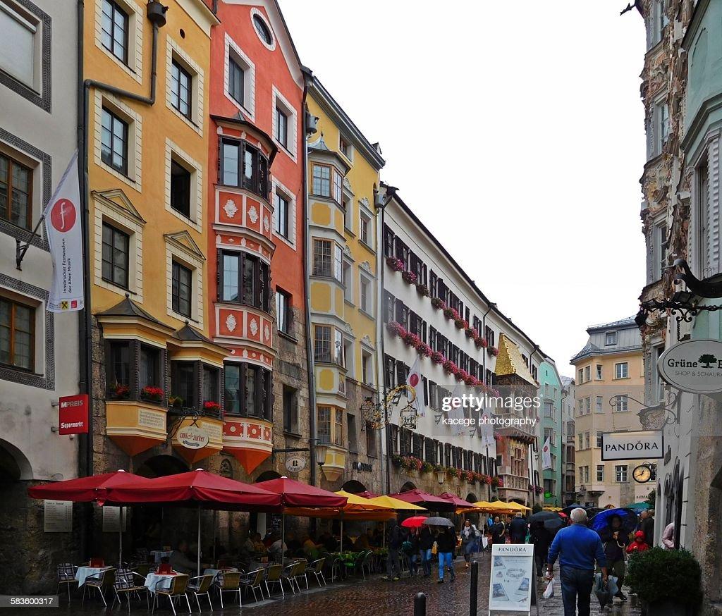 Innsbruck, old town : Stock Photo