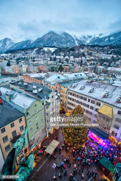 innsbruck - winter landscape - innsbruck stock pictures, royalty-free photos & images