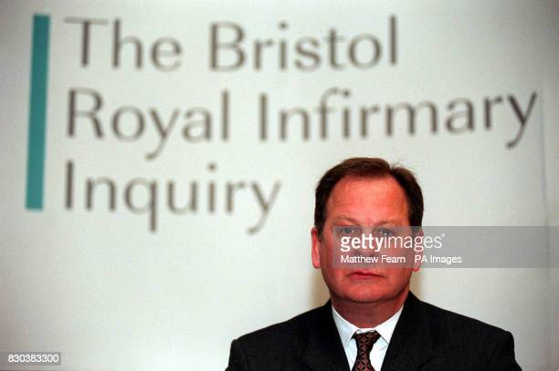 Inquiry Chairman Professor Ian Kennedy speaks at a conference on the publication of the Interim Report on the Bristol Royal Infirmary Inquiry in...