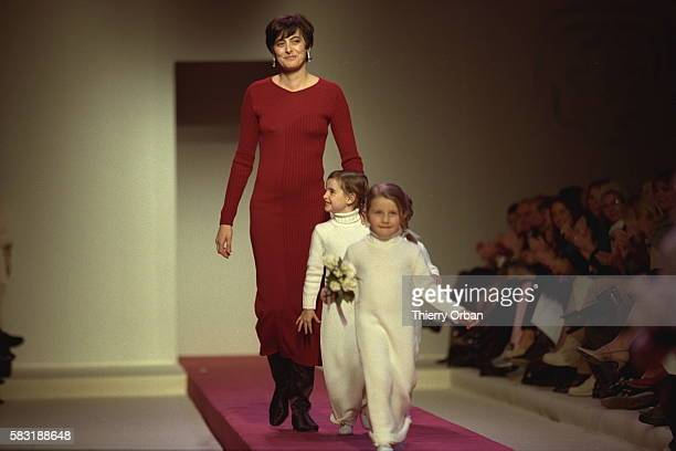 Inès de la Fressange and her daughter Nina