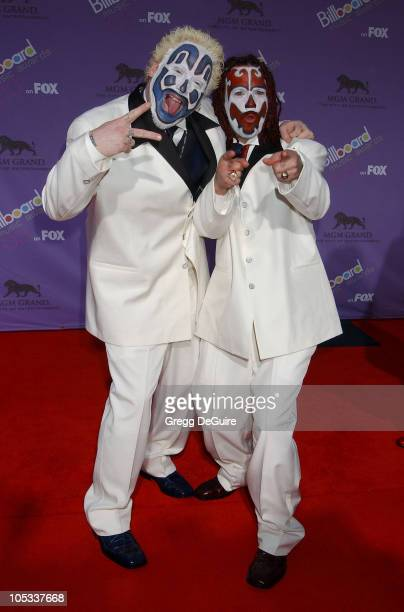 Insane Clown Posse during The 2003 Billboard Music Awards Arrivals at MGM Grand in Las Vegas Nevada United States