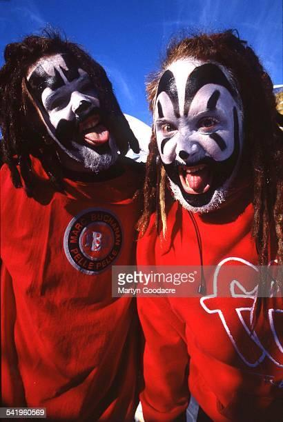 Insane Clown Posse portrait Detroit United States 1997 Violent J and Shaggy 2 Dope