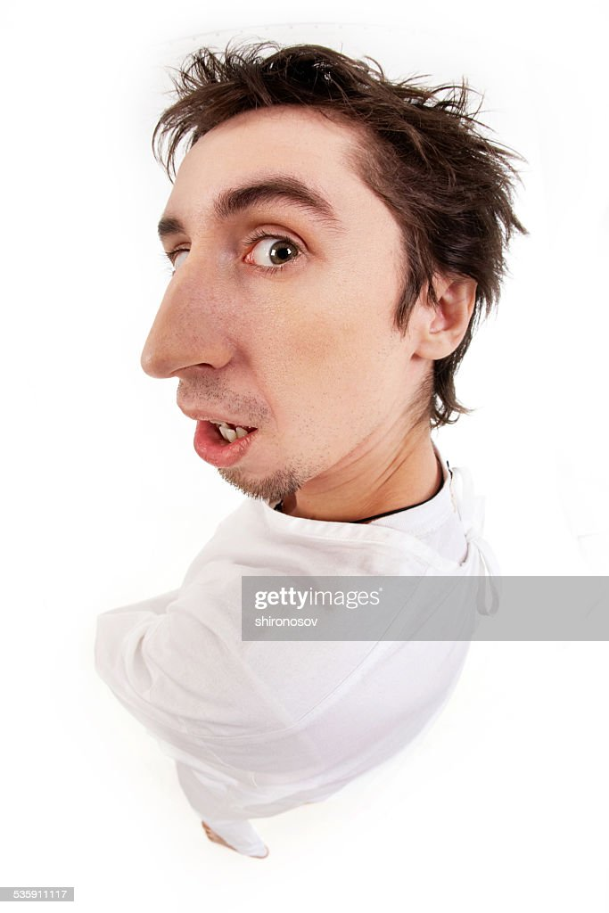 Insane man : Stock Photo