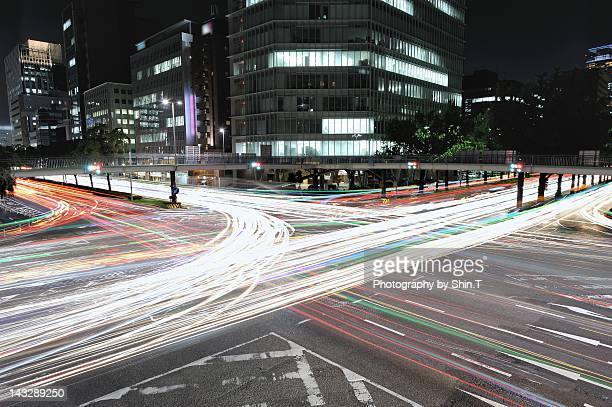 """insane traffic  """"nagoya"""" - 名古屋 ストックフォトと画像"""