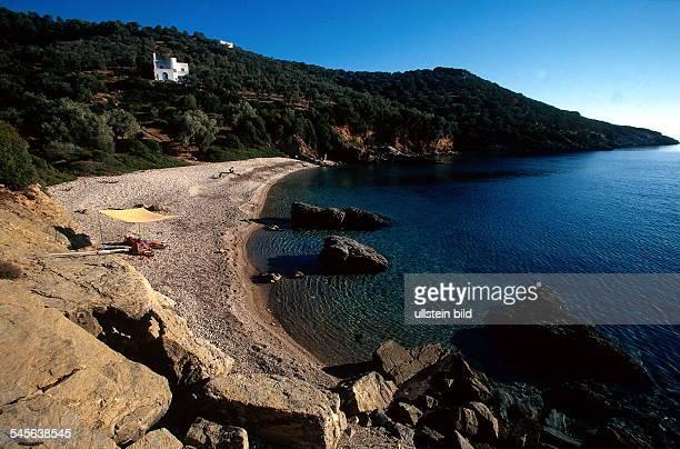 Insel Alonissos Bucht von Megali Ammas 1998