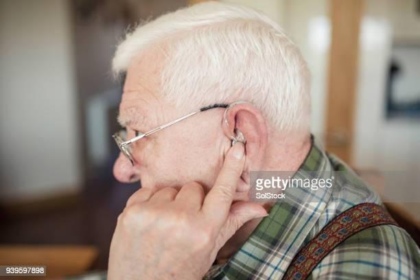 Insertion de son appareil auditif