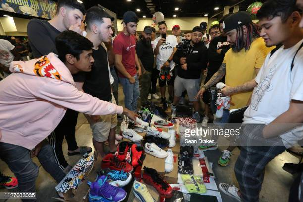 Inshan Hassan and Noam Attias negotiate a sale price for a sneaker collection valued at $8000 with Jaysse Lopez owner of Urban Necessities who...