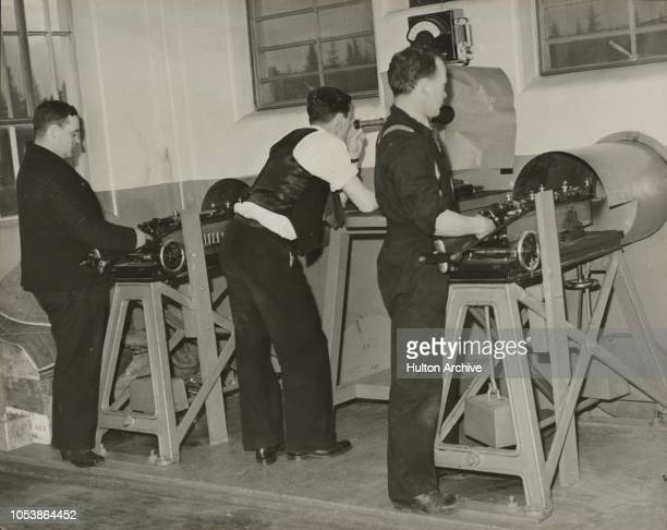 Inside a Canadian Arsenal Even such a small item of equipment as a small arms cartridge must pass through many hands and undergo dozens of tests...