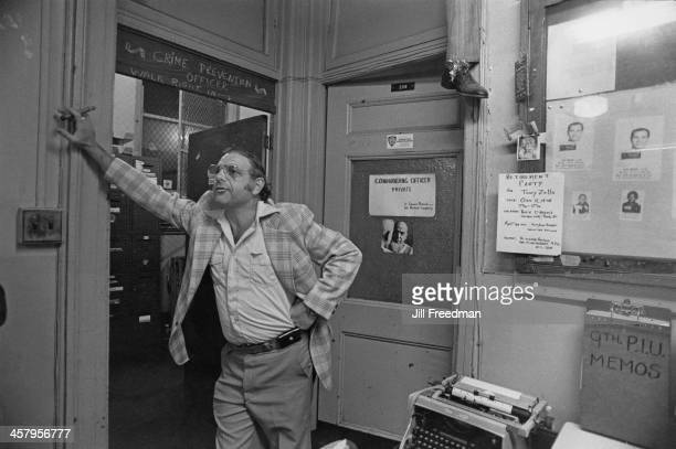 Inside a Detective Squad Room in New York City 1978