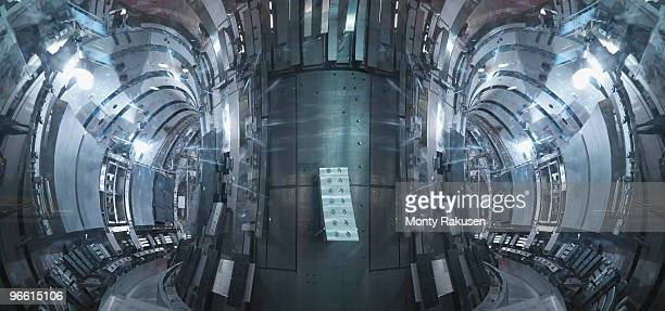 inside a fusion reactor - nuclear reactor stock pictures, royalty-free photos & images