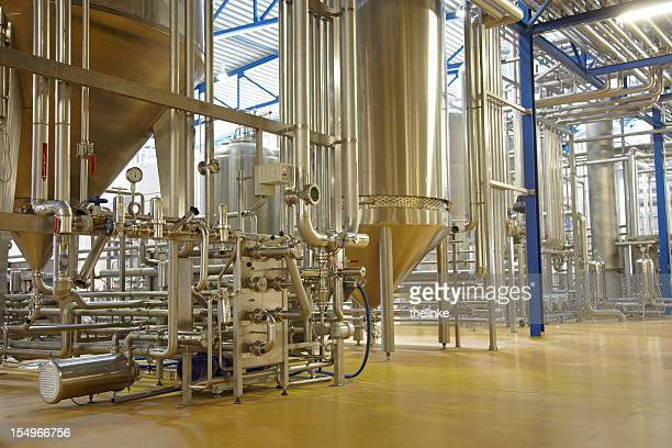 Inside a german brewery