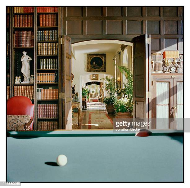 Inside a home is photographed for Town & Country Magazine on September 8, 2011 in Tuxedo Park, New York.