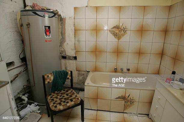 Inside a run down East Brunswick home where residents pay $160 per week for a room on 18 October 2006 THE AGE NEWS Picture by WAYNE TAYLOR
