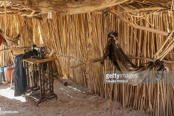 CONTENT] Inside a straw hut in the Saharian village of Indelek