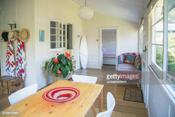 Inside a typical Australian beach house