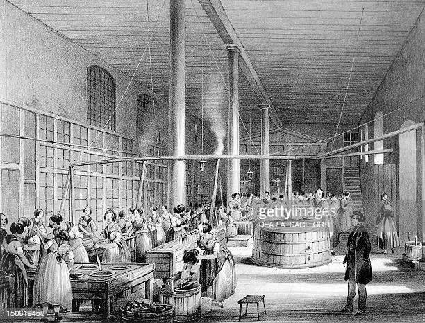 Inside an Austrian factory in19th century