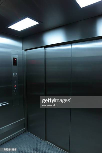 inside an elevator - help:contents stock pictures, royalty-free photos & images
