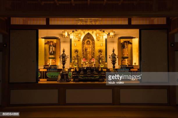 Inside at Hyakumanben Chionji Temple