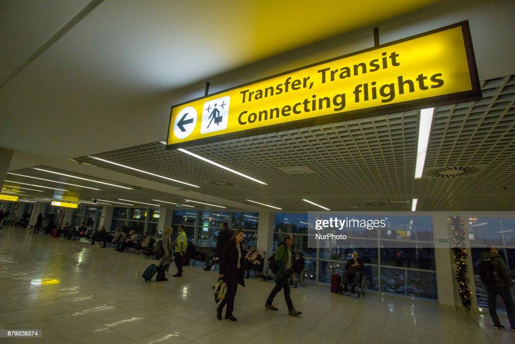 Belgrade's Airport Nikola Tesla : News Photo