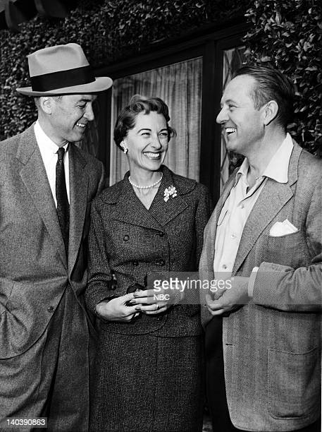 SPECTACULAR Inside Beverly Hills Aired Pictured Jimmy Stewart wife Gloria Stewart Art Linkletter Photo by Gerald Smith/NBCU Photo Bank