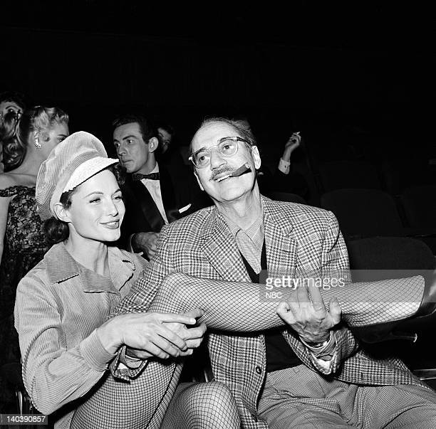 SPECTACULAR Inside Beverly Hills Aired Pictured Sue Casey Groucho Marx Photo by Gerald Smith/NBCU Photo Bank