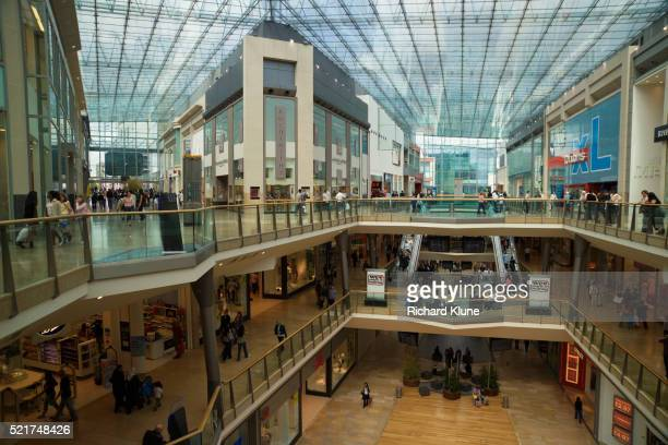inside bull ring shopping centre - west midlands stock pictures, royalty-free photos & images