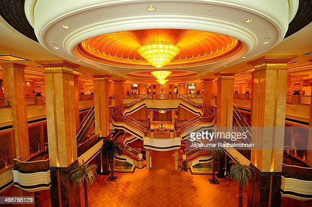 CONTENT] Inside Emirates Palace in Abu Dhabi Famous and historical architecture marvel with luxury interior Located in Abu Dhabi UAE