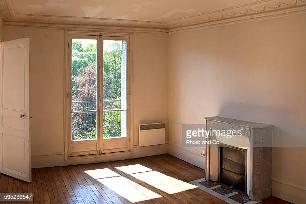 Inside empty apartment