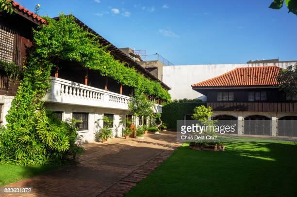 Inside Garden of Casa Gorordo