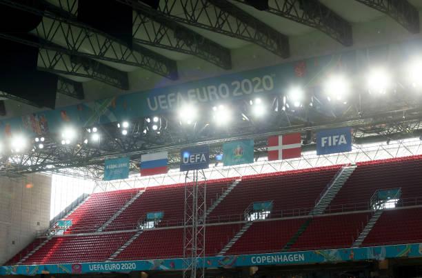 DNK: Russia v Denmark - UEFA Euro 2020: Group B
