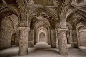 Inside Jameh Mosque of Isfahan, Iran