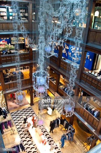 Inside Liberty Department Store, West End.