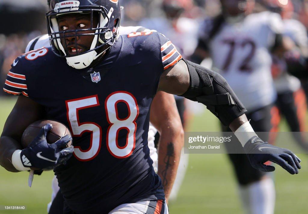 Cincinnati Bengals v Chicago Bears : News Photo