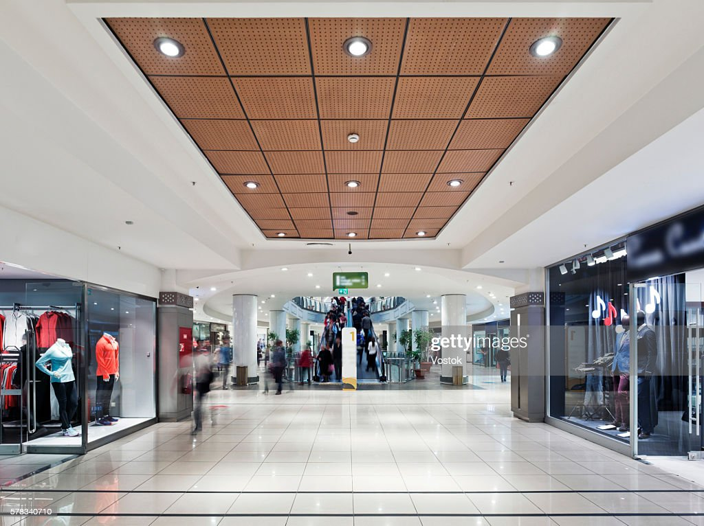 """Inside """"Maltepe Park""""- the large Shopping Mall in Istanbul : Stock Photo"""