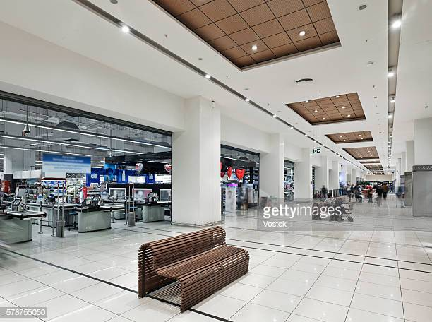 Inside 'Maltepe Park'- the large Shopping Mall in Istanbul