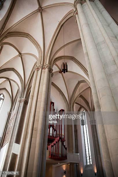内側に Marienkirche オスナブリュック/Osnabrück