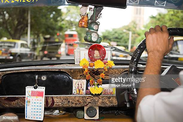 inside of a taxi - car decoration stock pictures, royalty-free photos & images