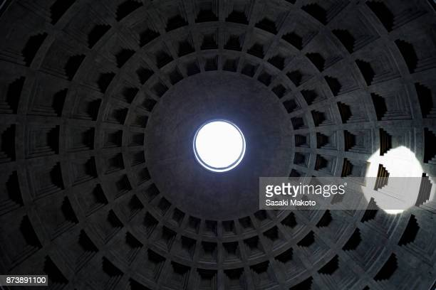 inside of Pantheon in Rome