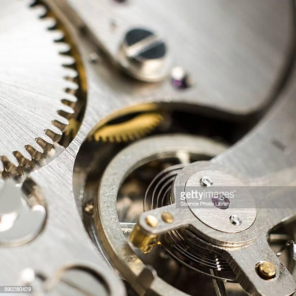 Inside of pocket watch