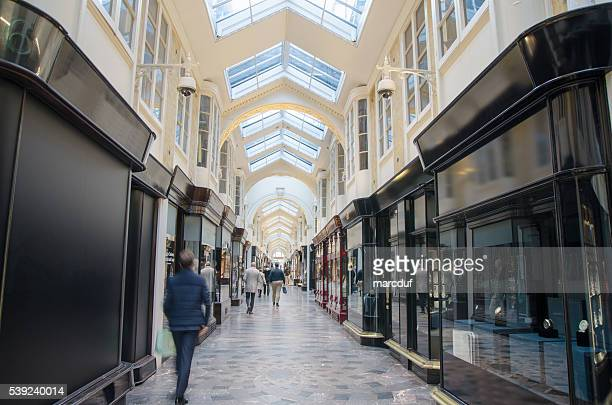 Inside of the Burlington Arcade Shopping Mall