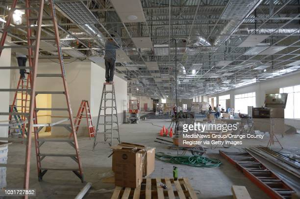 Inside of the future home of Chuck E Cheese's restaurant at City Place in Downtown Long Beach ///ADITIONAL INFORMATION Slug 01cityplace0927jgjpg Date...
