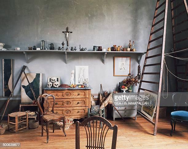 Inside Paul Cezanne's workshop AixenProvence ProvenceAlpesCote d'Azur France