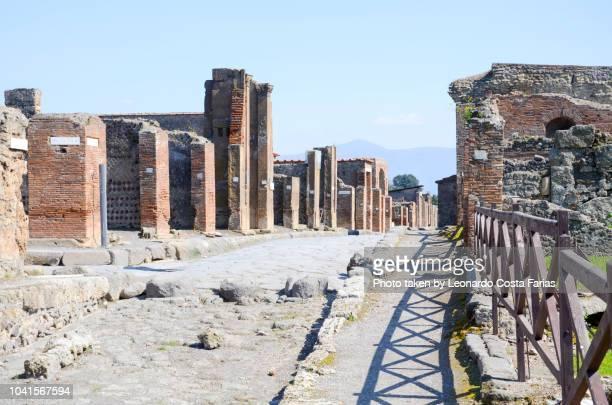 inside pompeii - leonardo costa farias stock photos and pictures