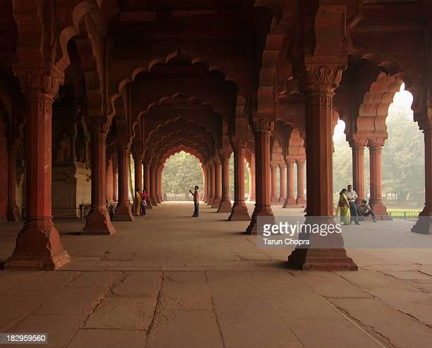 inside red fort - delhi stock pictures, royalty-free photos & images